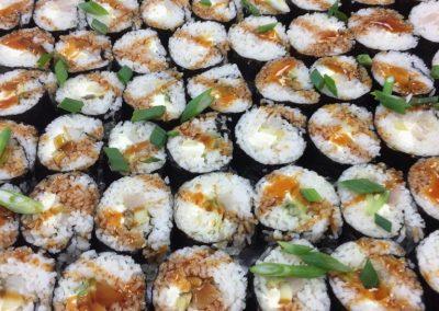 Fresh Crab Sushi Rolls